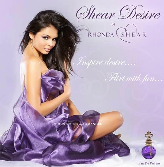 Rhonda Shear дебютира в дамските аромати Shear Desire