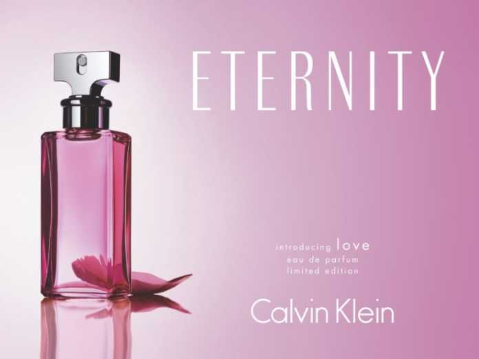 Еternity на Calvin Klein