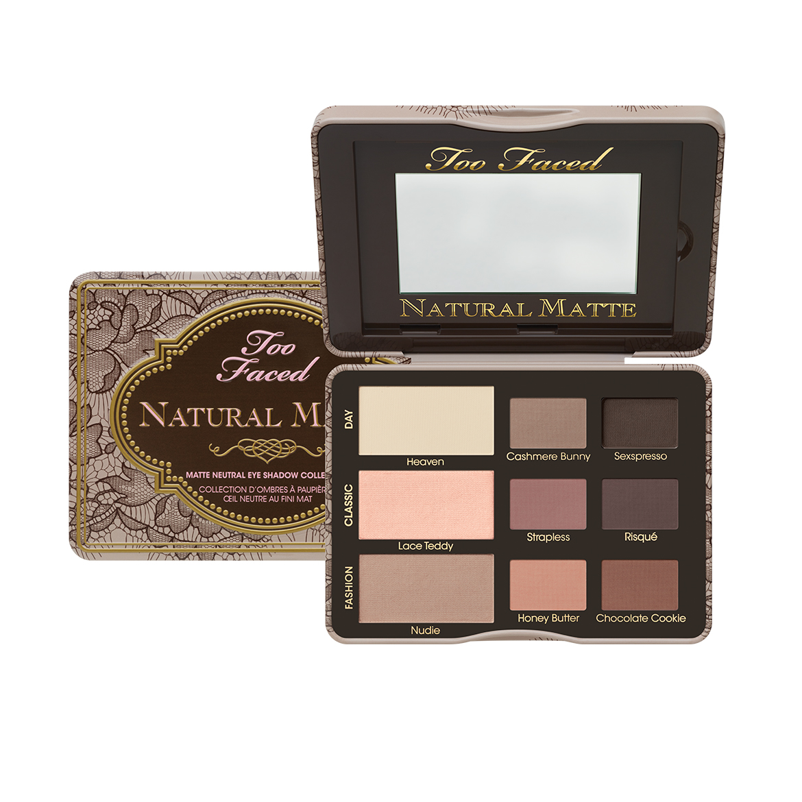natural matte palette too faced